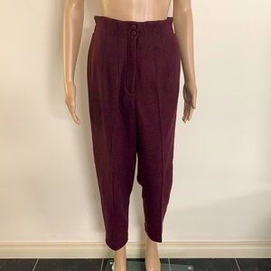 HANDCRAFTED | High waisted trousers